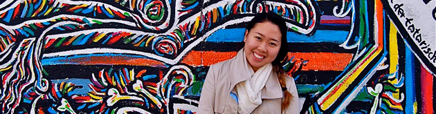 IES Abroad Study Abroad student in Berlin