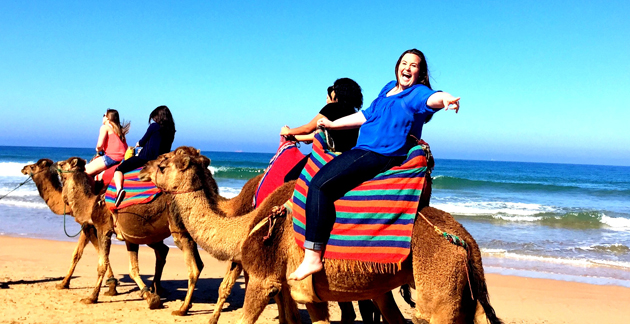 Study Abroad Scholarships - Barcelona Student in Morocco