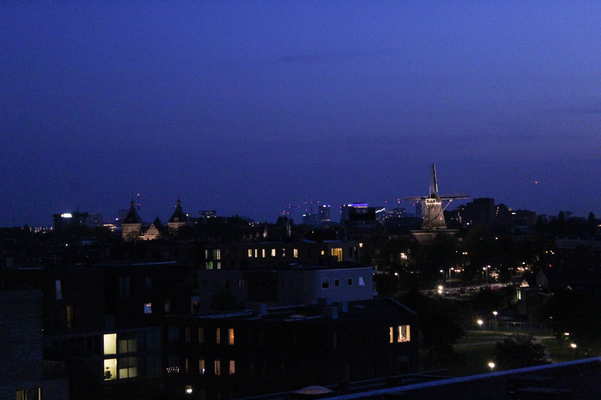 My view of Amsterdam.