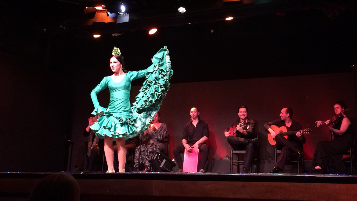 flamenco dancing in Barcelona