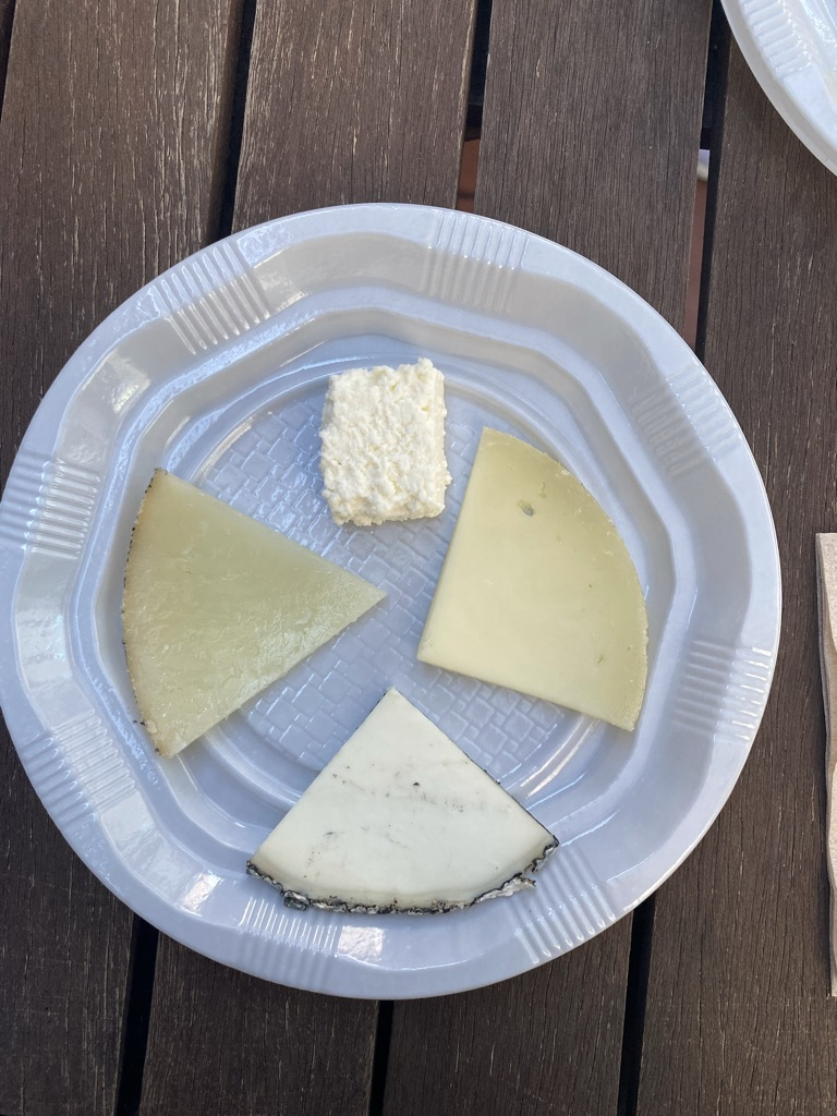 Different types of cheese in Spain