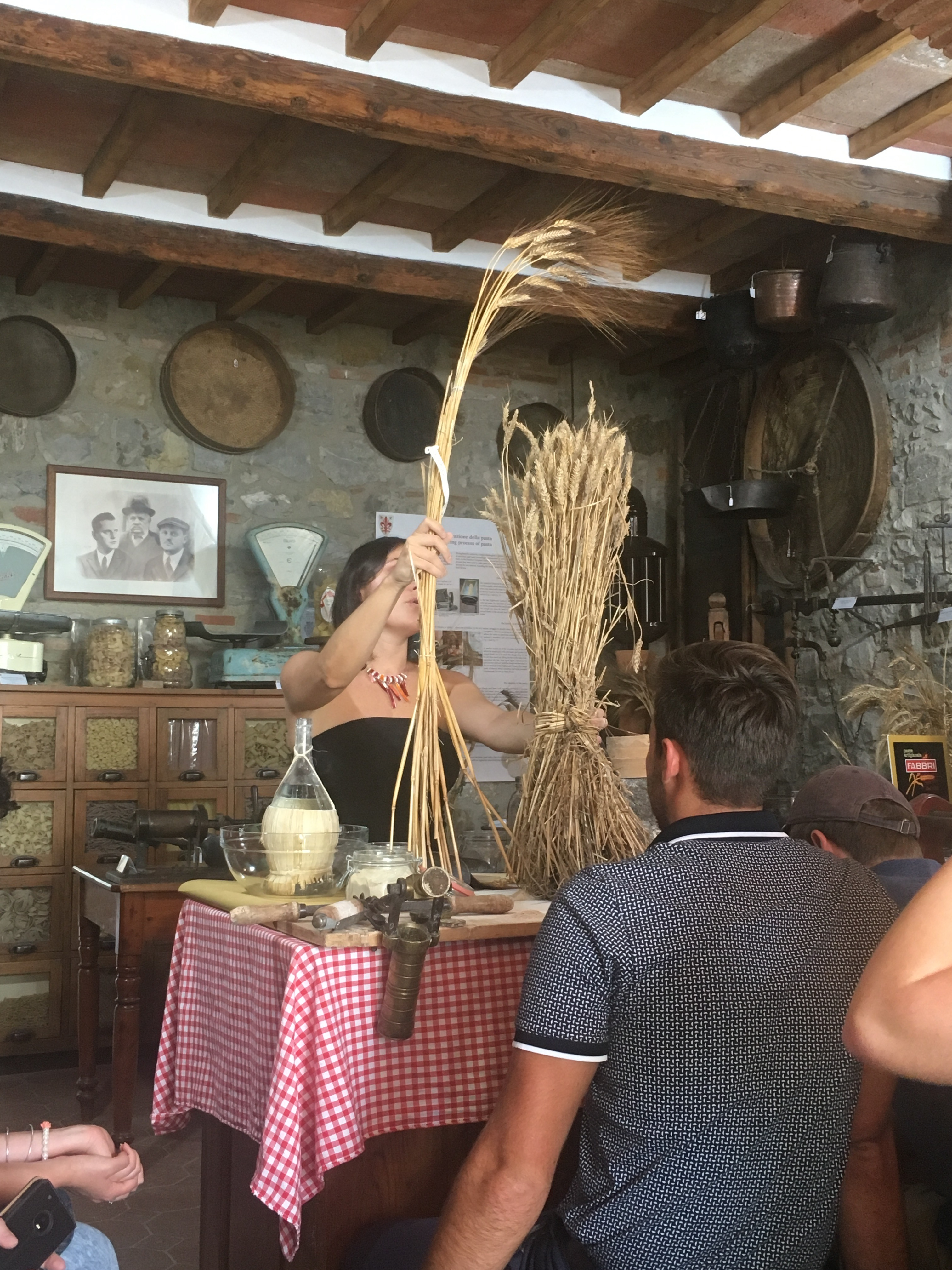 Grains play an important role in the pasta making process