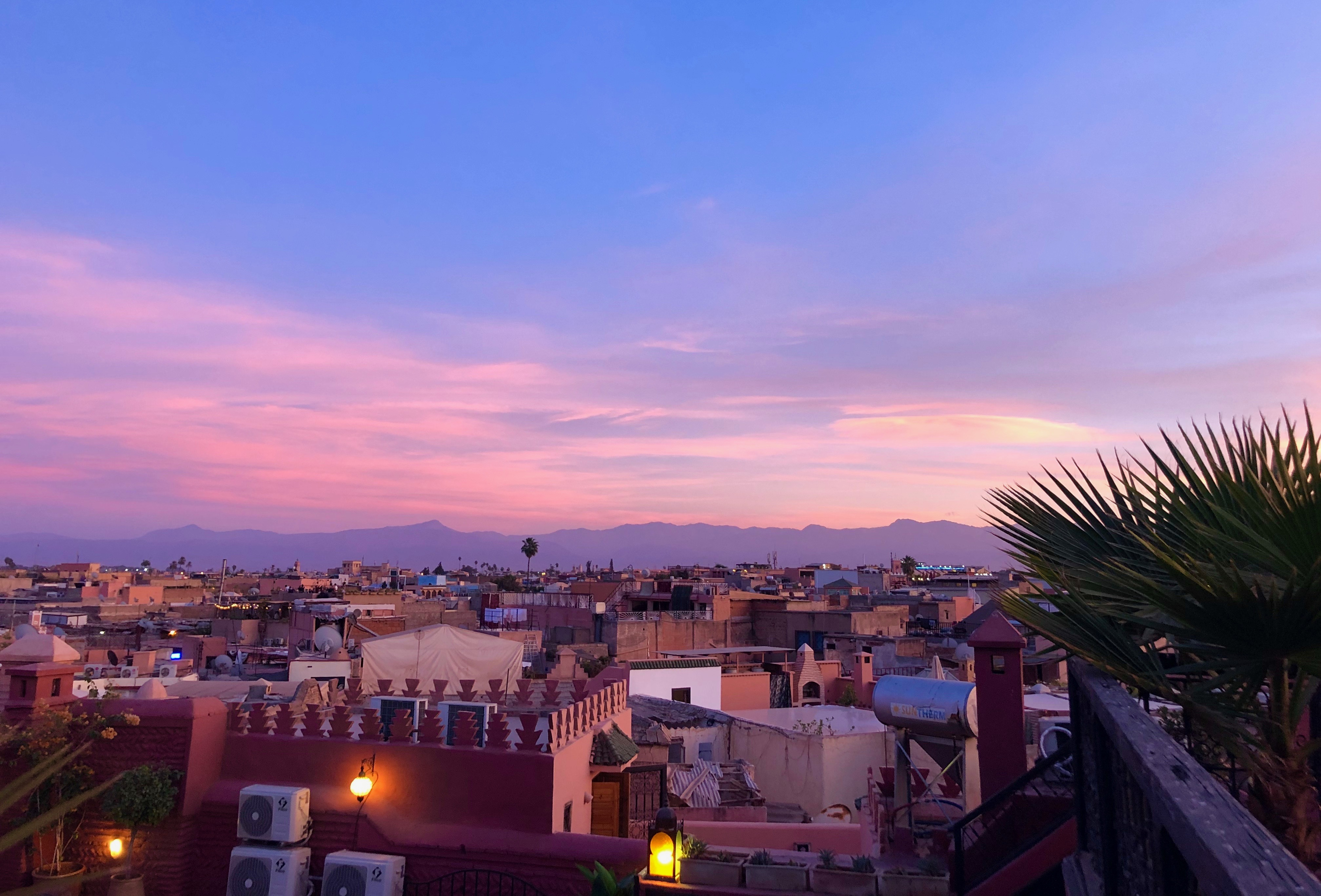 Moroccan Sunset