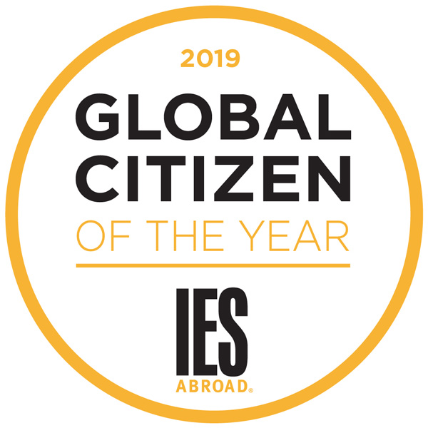 2019 Global Citizen of the Year Logo
