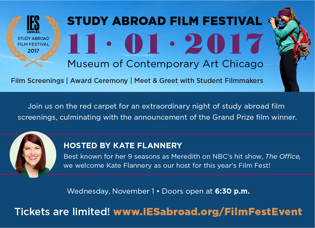 2017 Study Abroad Film Festival Event