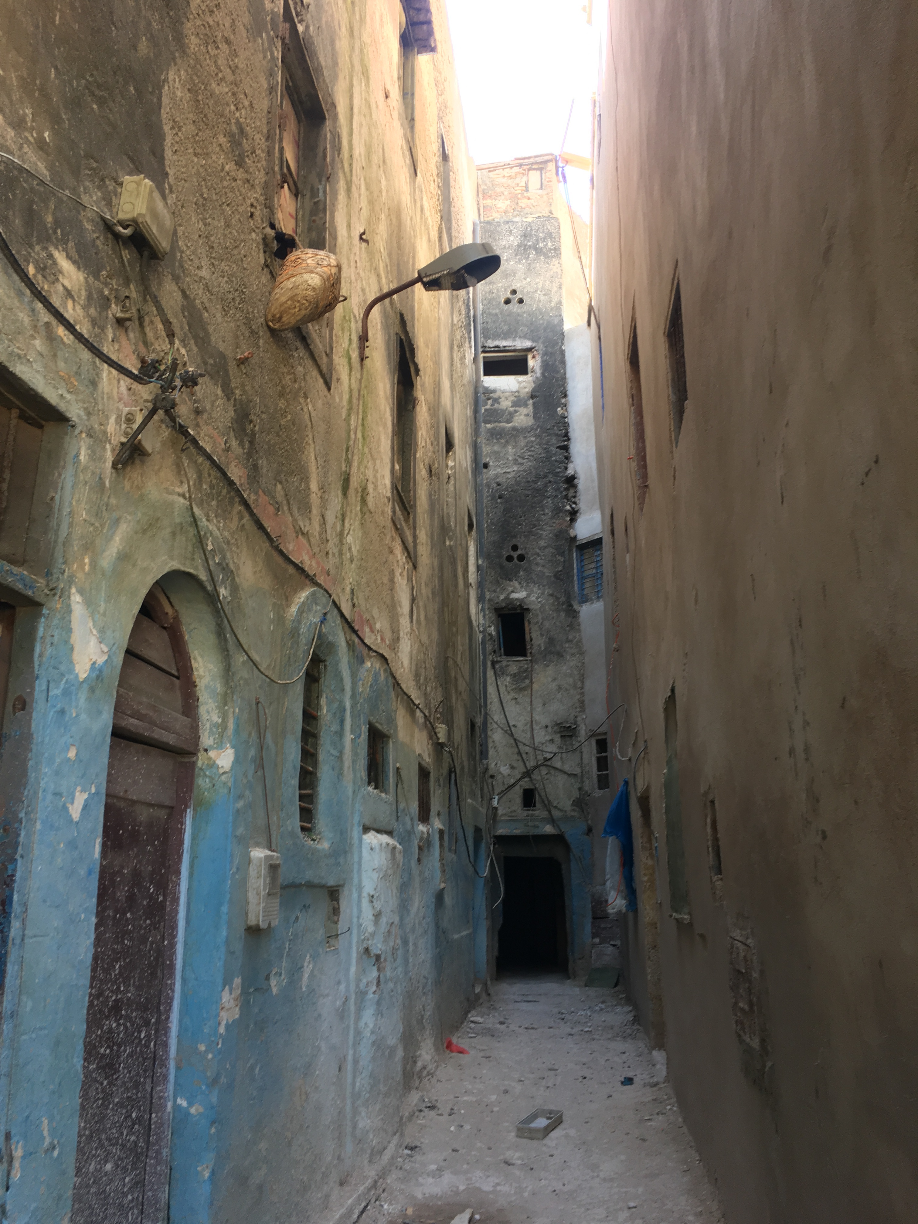 An alley in the mellah of Essaouira