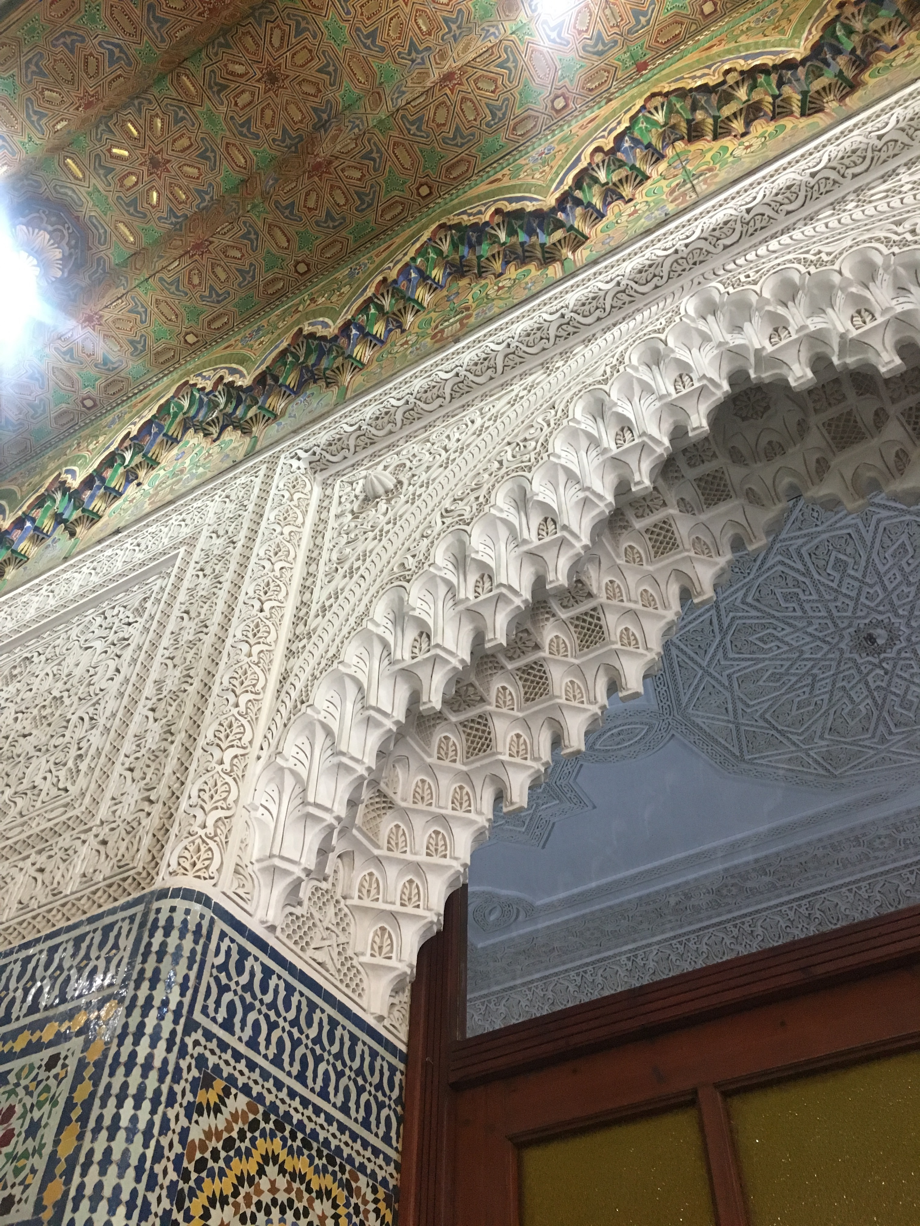 Moroccan architectural details