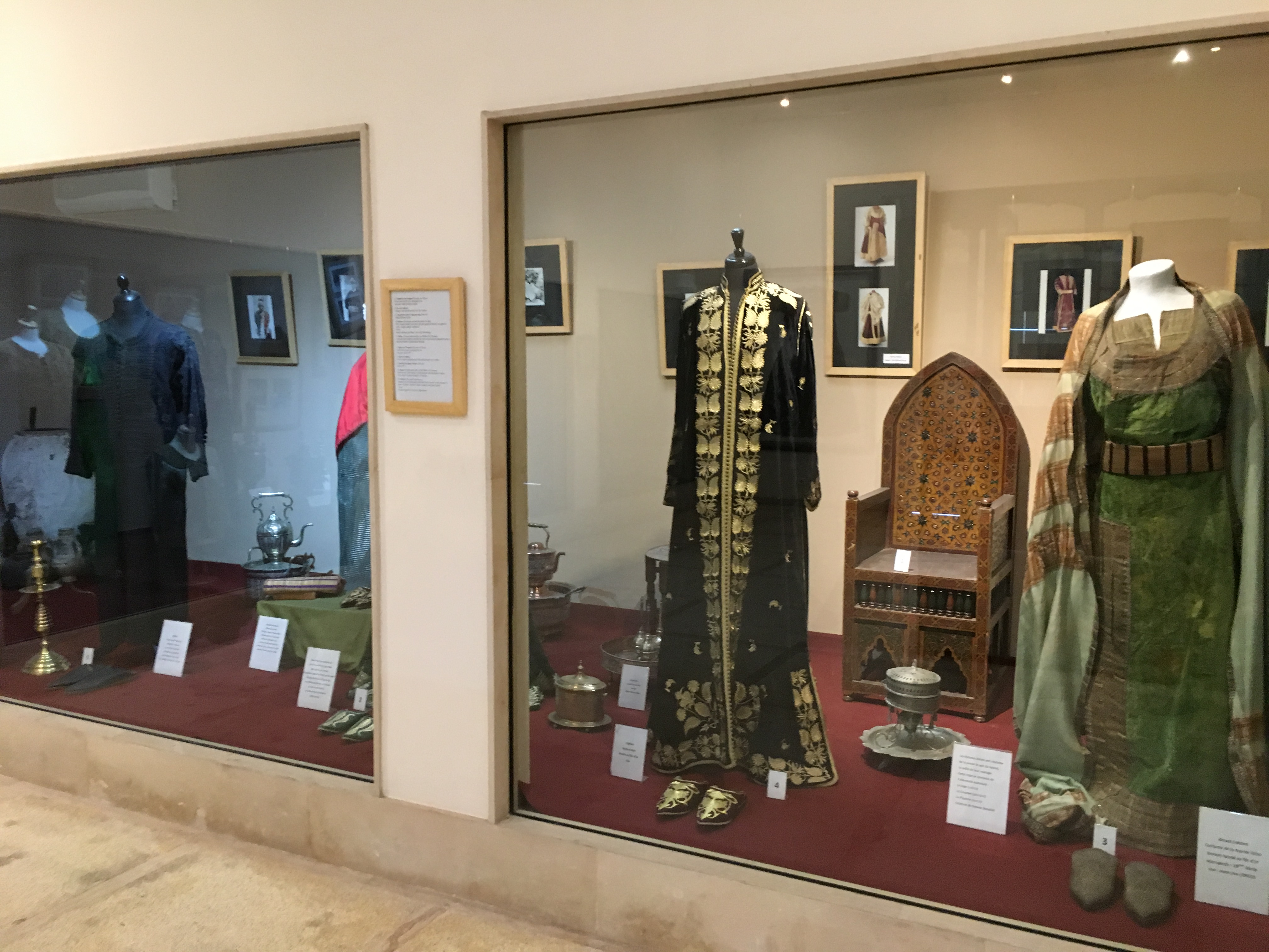 Display at the Museum of Moroccan Judaism