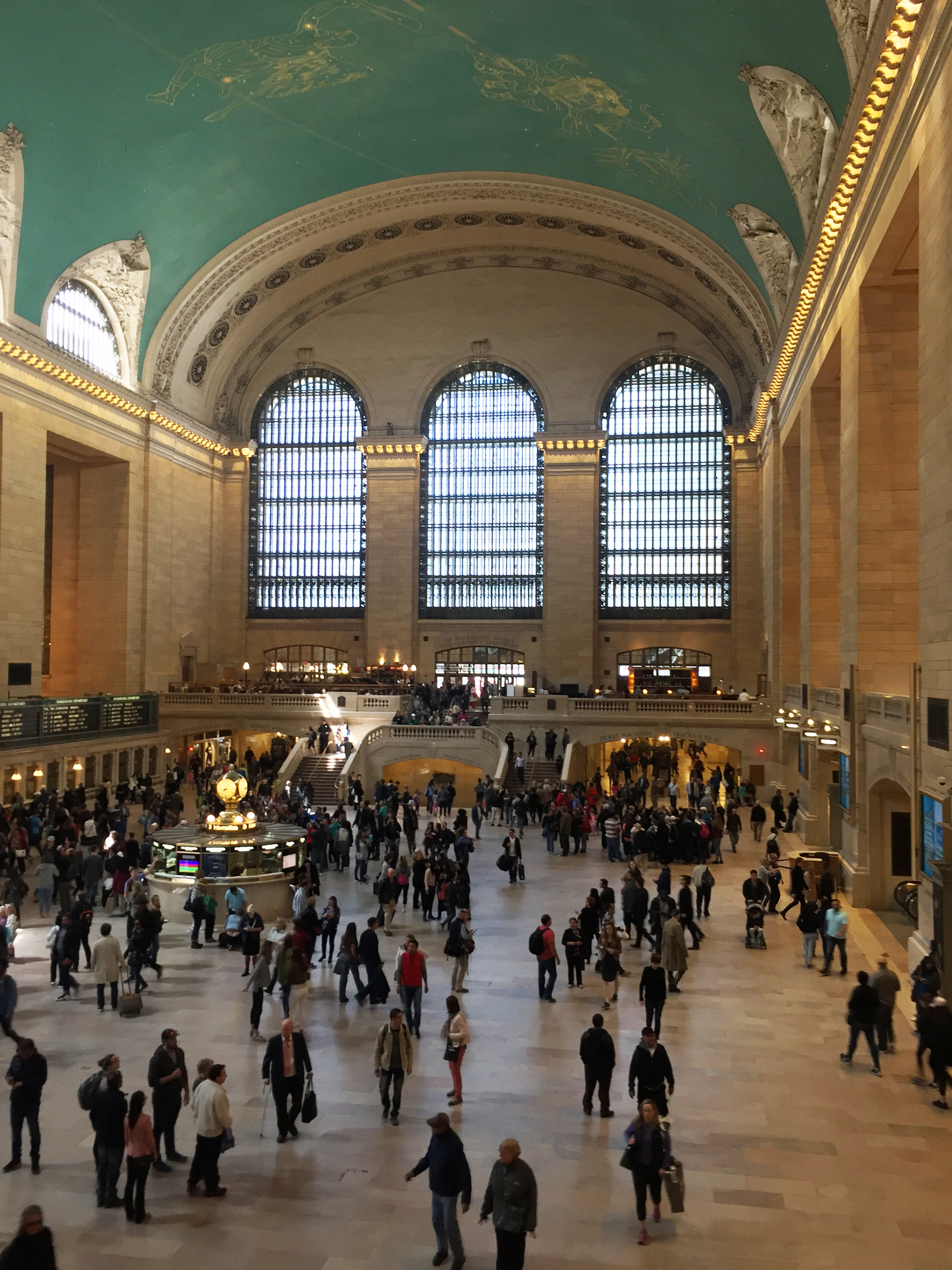 Grand Central Terminal Main Concourse during the day