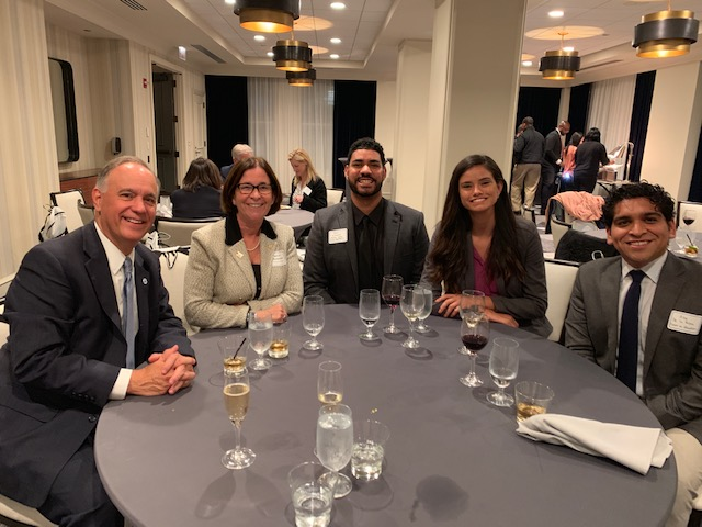 Guests at HACU dinner