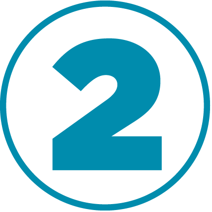 blue two icon