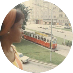 IES Abroad Vienna Alumna Maxine Hayes in the 60s