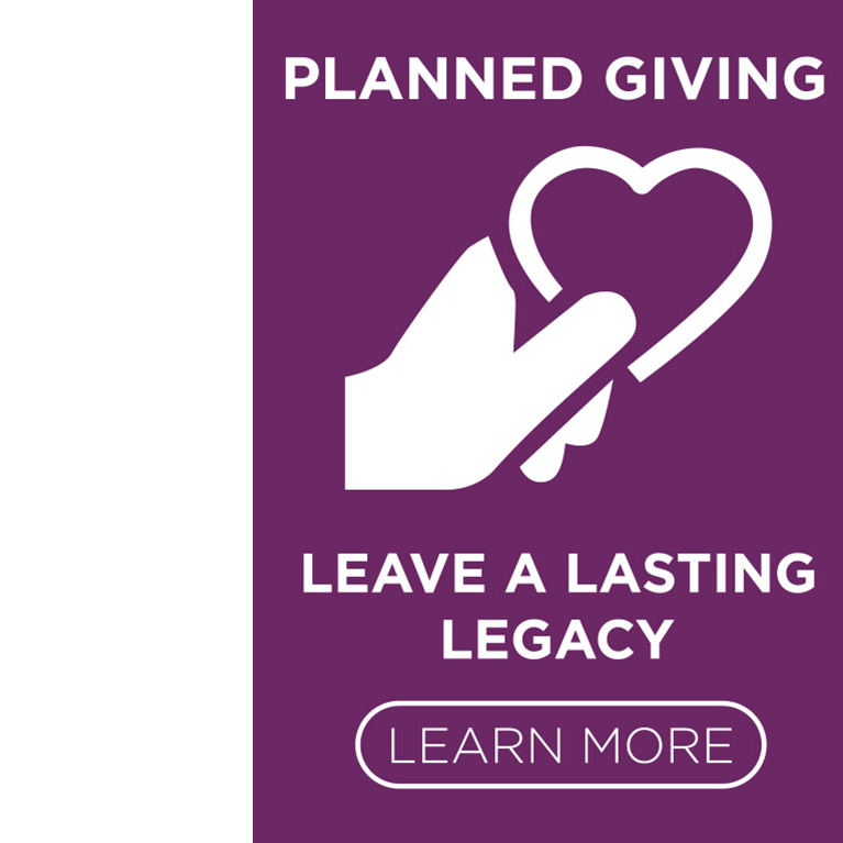 icon representing planned giving