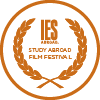 ies abroad film festival logo orange icon