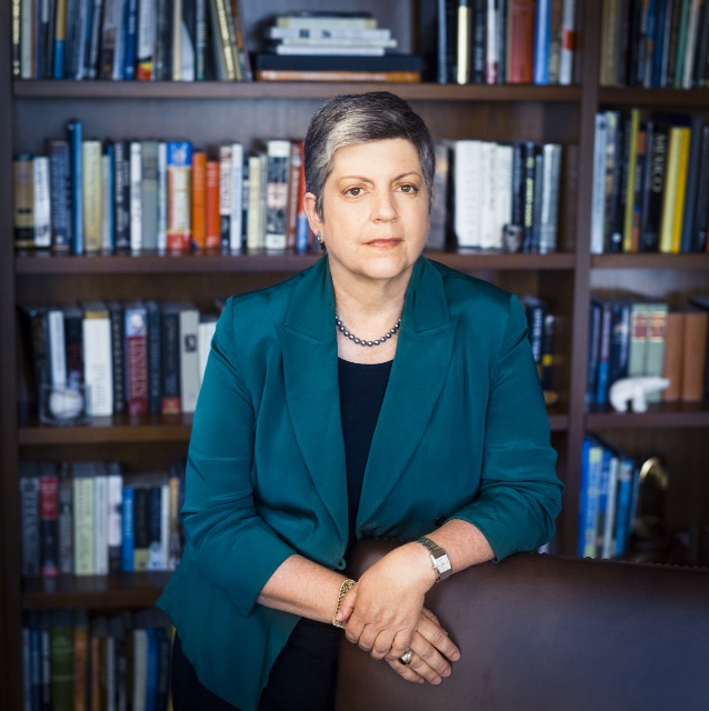 Janet Napolitano, President of University of California, and former U.S. Secretary of Homeland Security