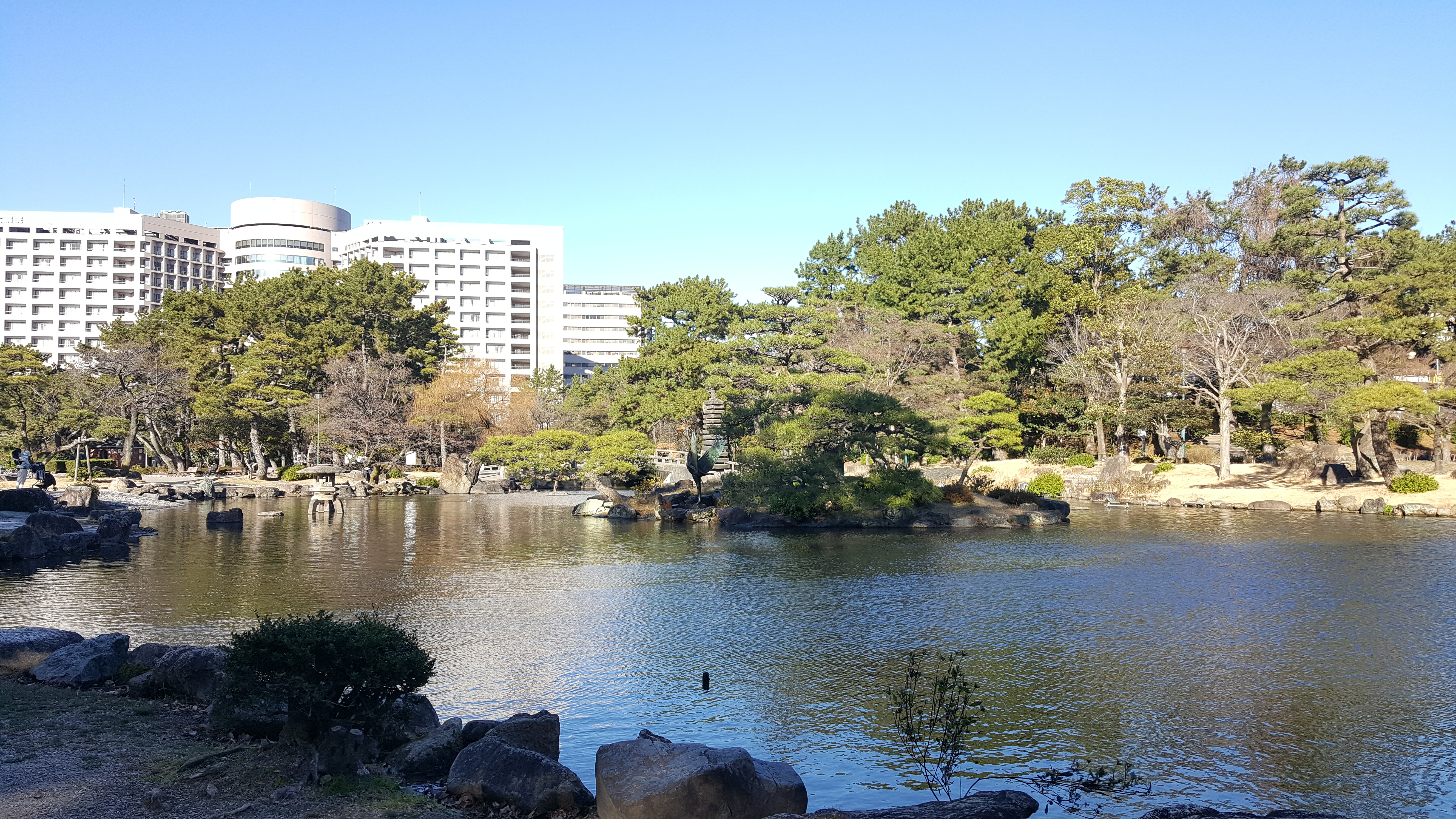 Main Pond in Tsuruma Park, Nagoya