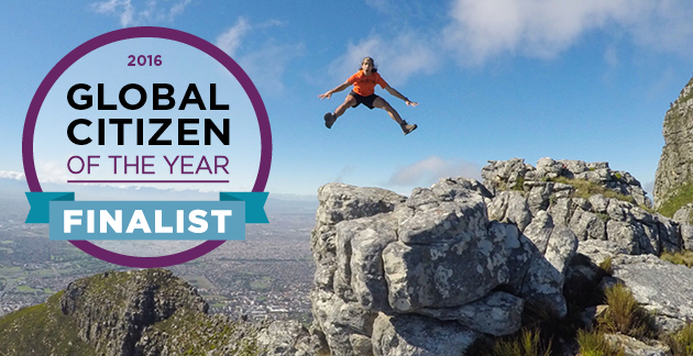 global citizen of the year finalist banner