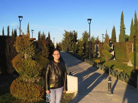 """Exploring the """"Miniature Europe"""" garden while visiting family friends in Madrid (also during mid-term break in Ireland)."""