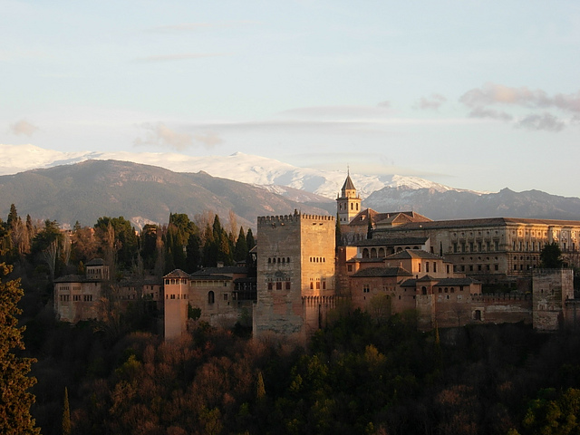 One of the most-visited locations in Spain: Alhambra in Granada