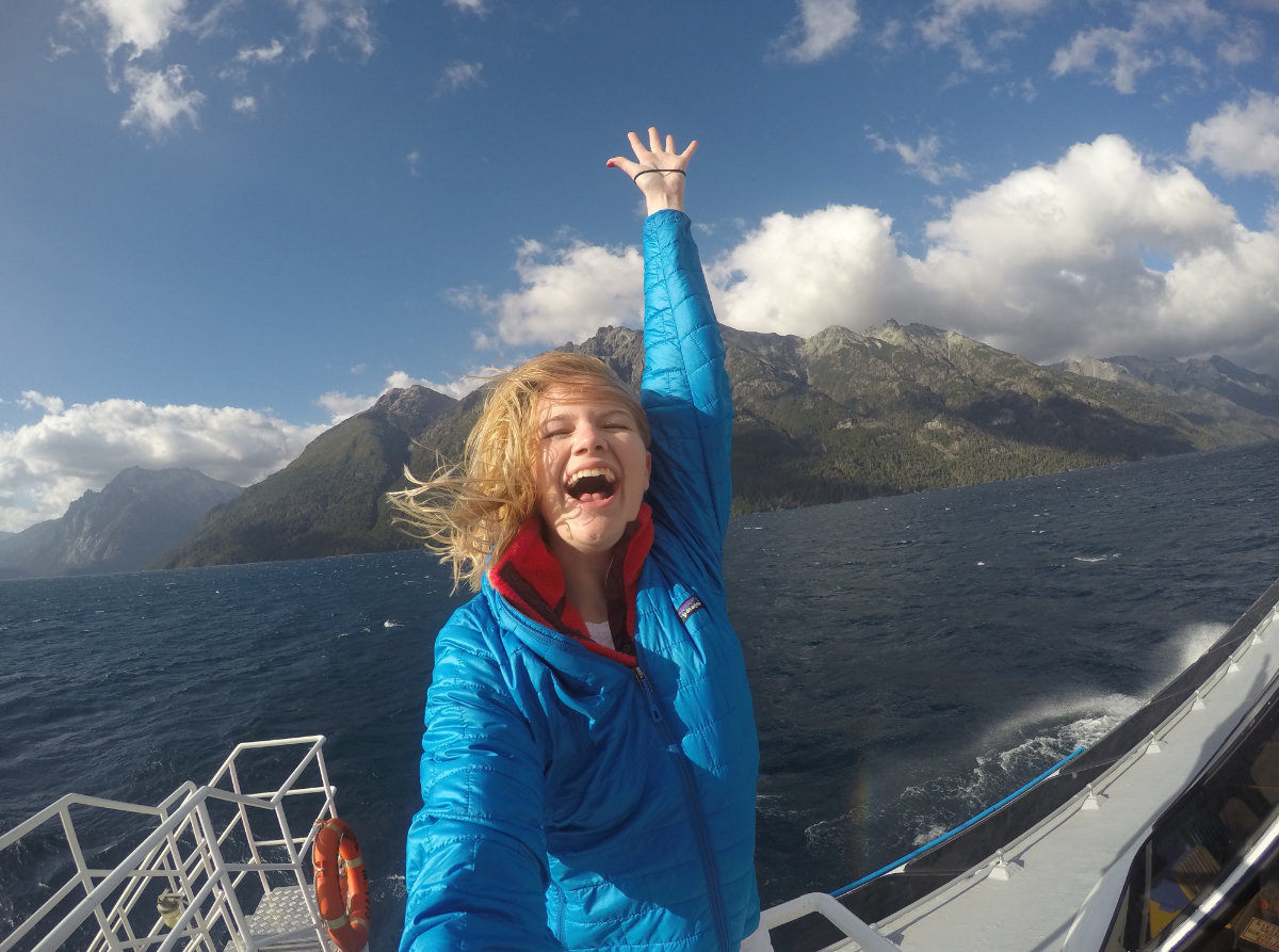 IES Abroad Student in Patagonia