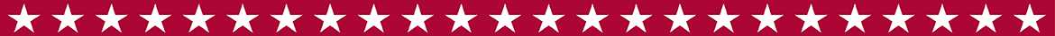 red banner with white stars