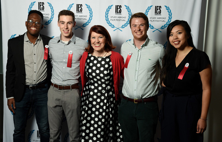 IES Abroad Study Abroad Film Festival Finalists with Kate Flannery