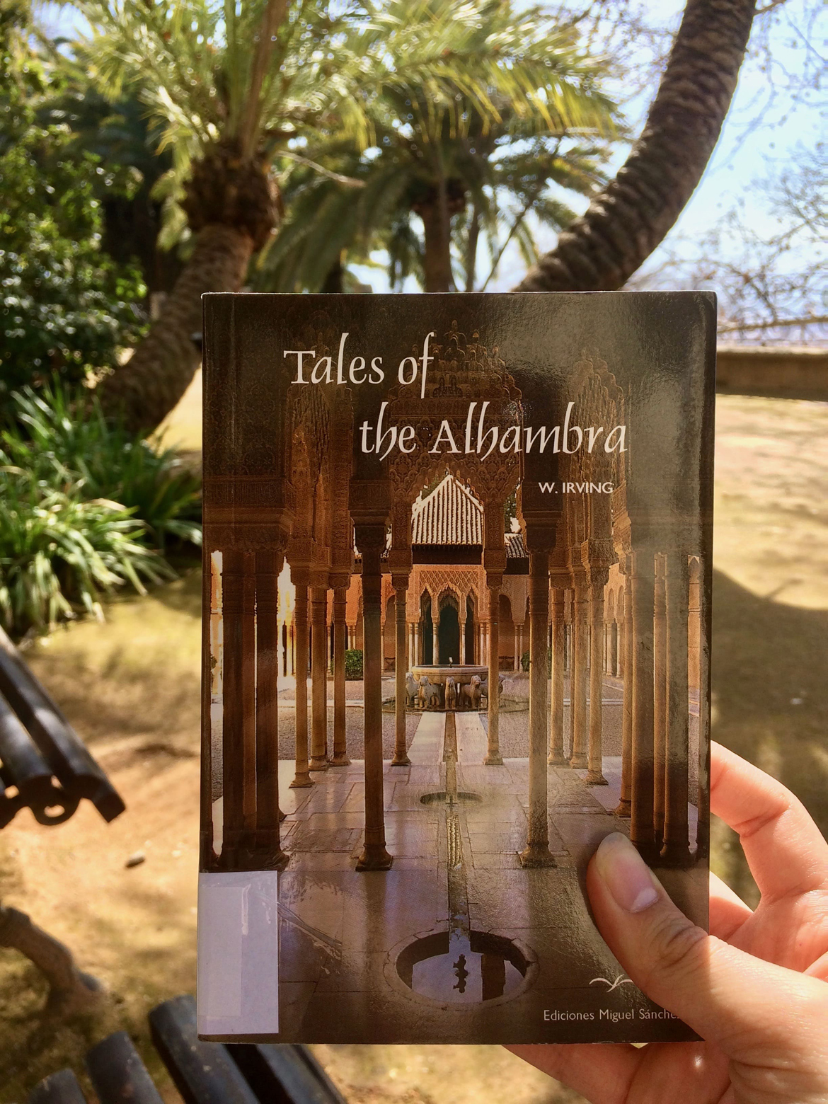 Book at the Alhambra
