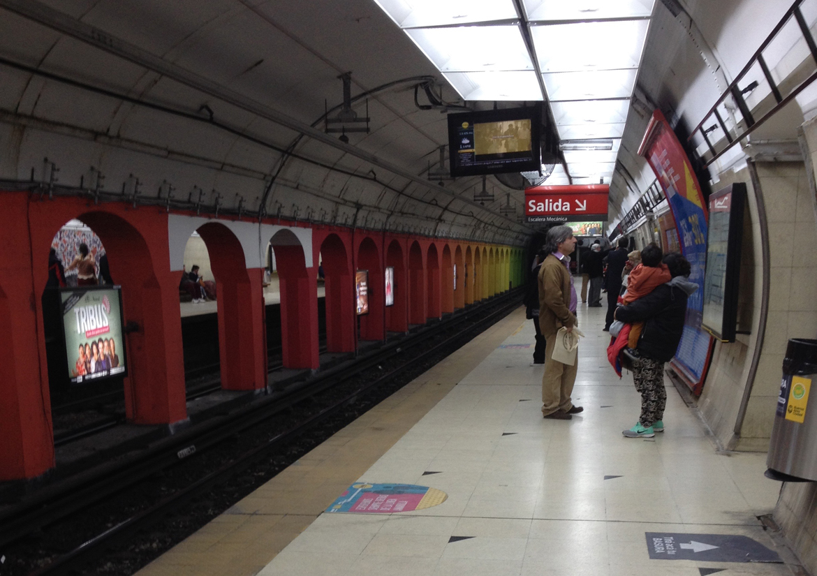 Subway in Buenos Aires