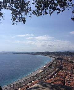 The View of Nice from Castle Hill