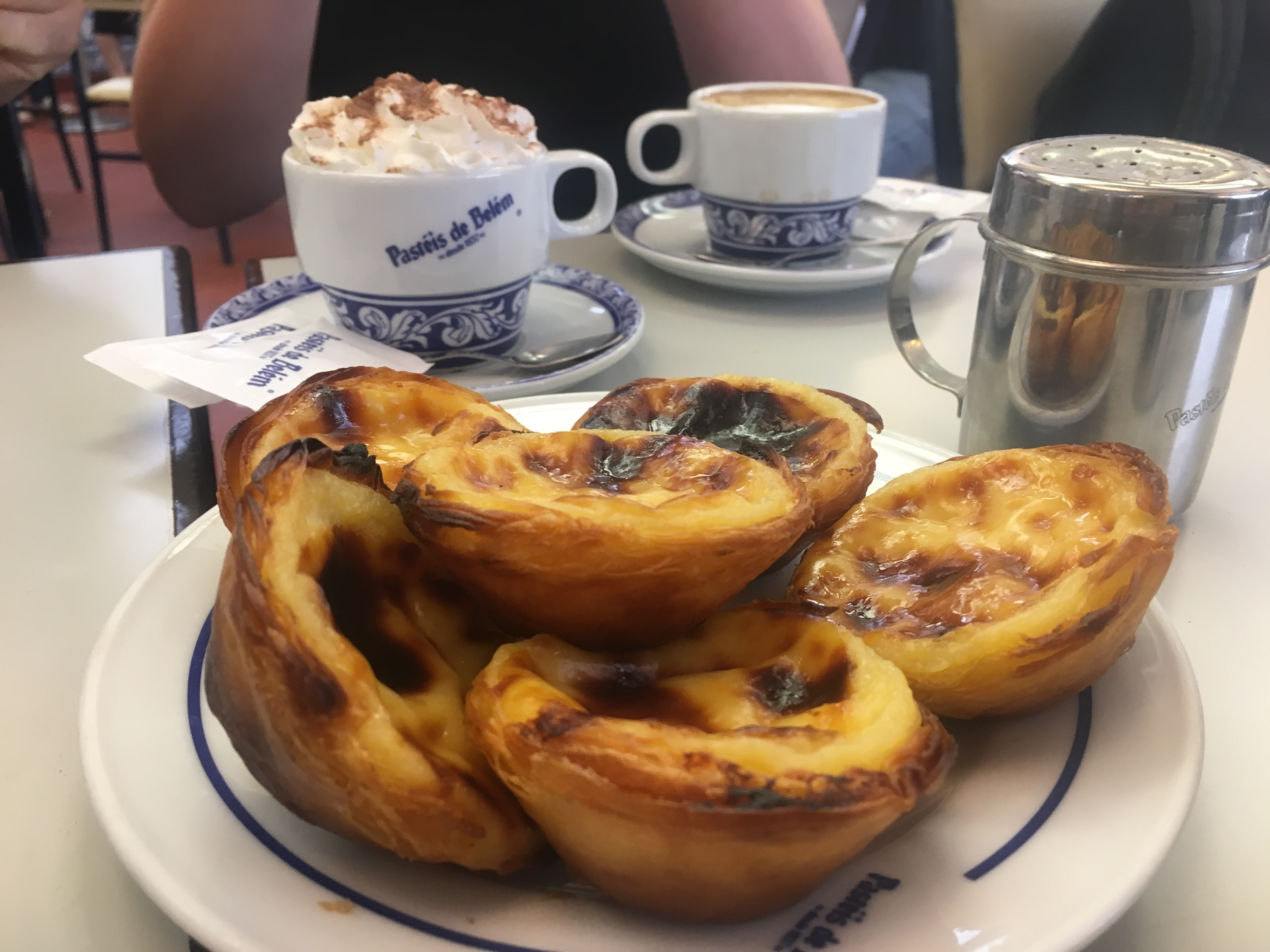A traditional Belem pastry