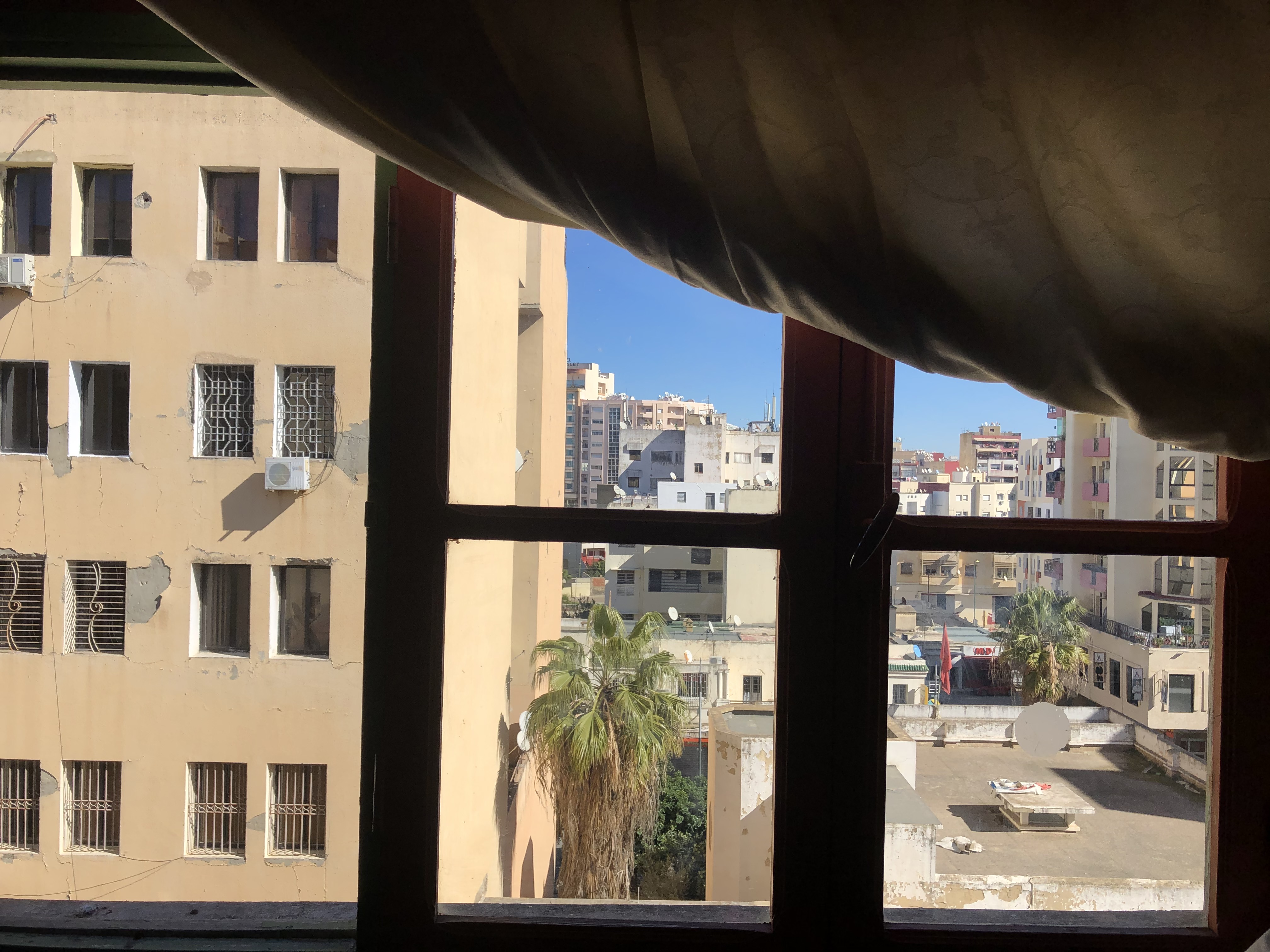 View of Meknes from a window