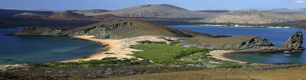 View of Galapagos Islands
