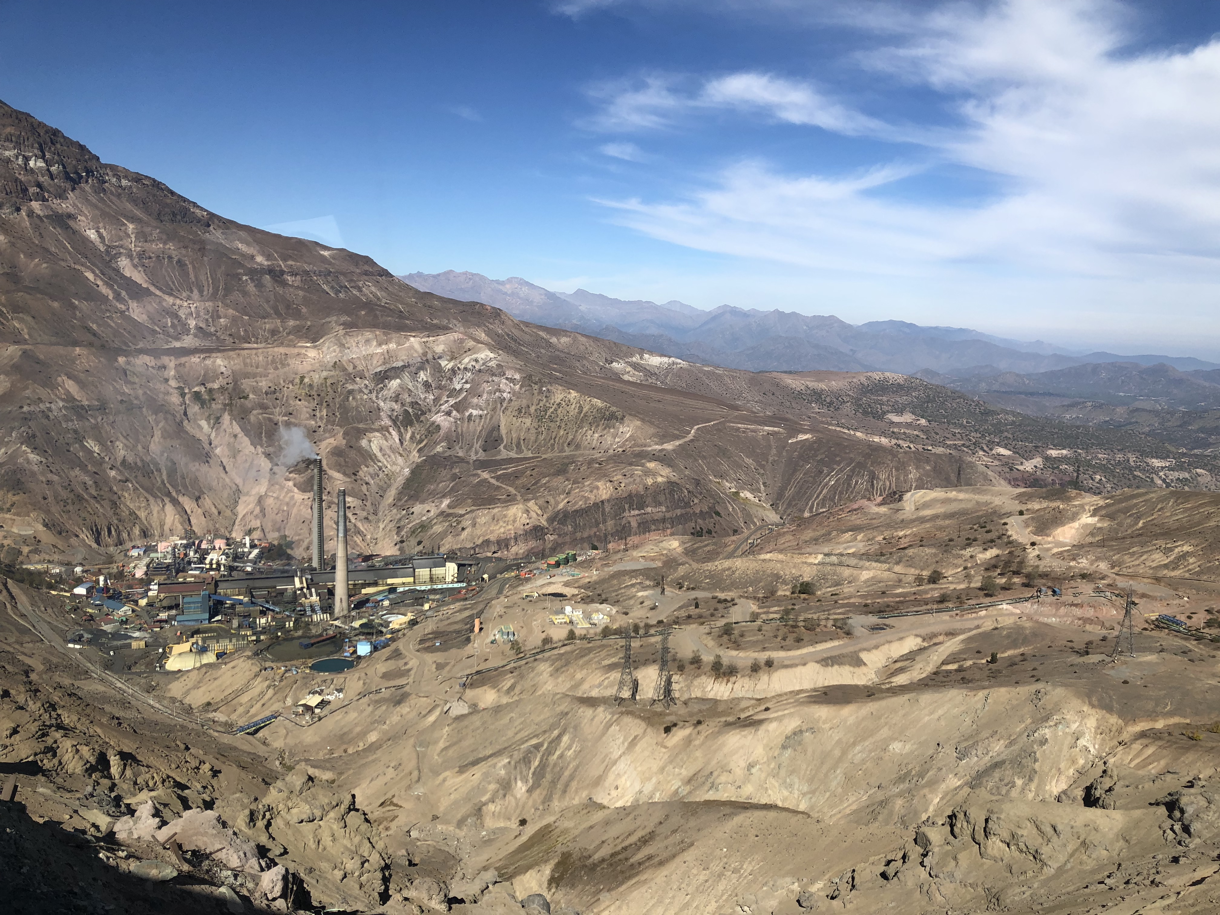Copper Mine Visit