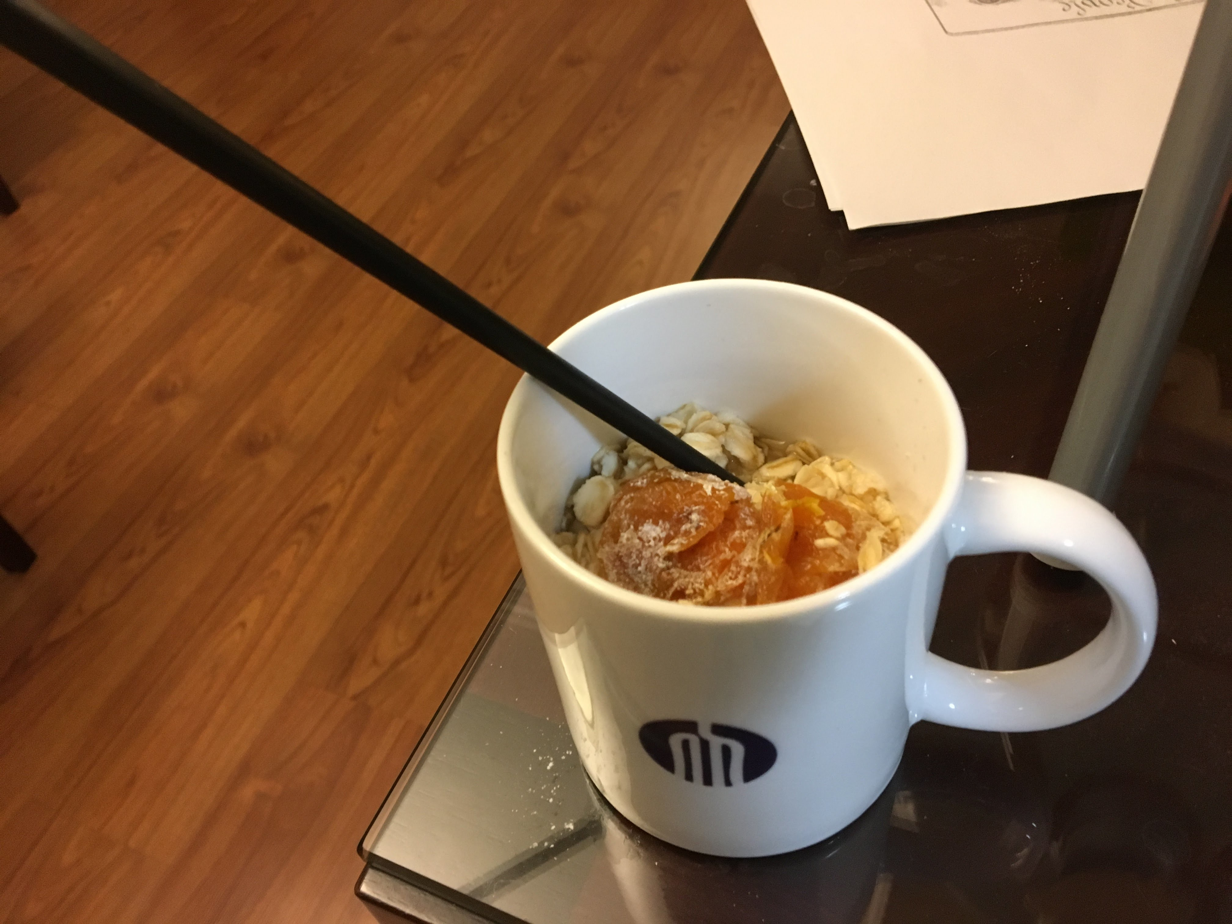 Morning Oats at the Apartment