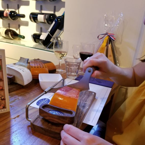 Cutting the Cheese in Amsterdam