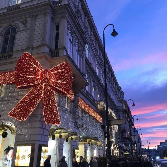 Vienna during the holidays