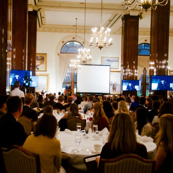 large ballroom at the Union League Club Chicago