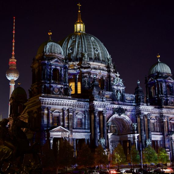 Berliner Dom - Berlin Cathedral at night