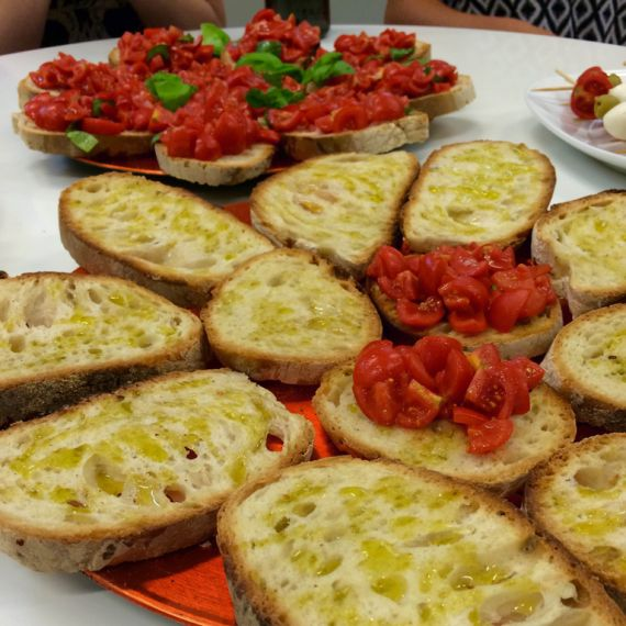bruschetta can be made gluten free