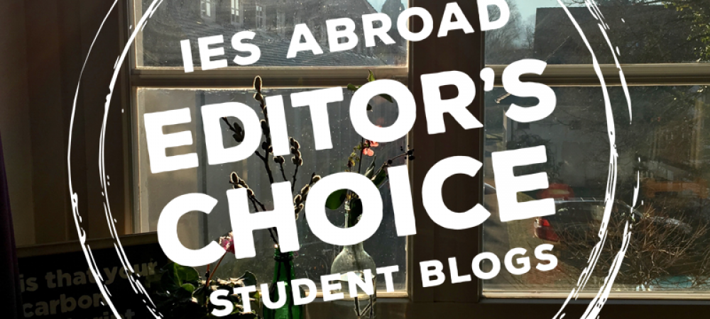 M Tauscher Editor's Choice Study Abroad Blog