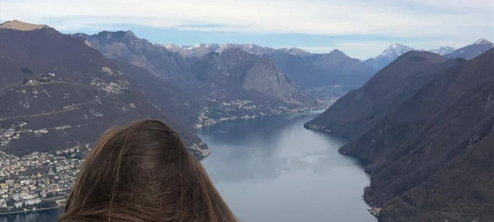 Feeling atop the world in Lugano