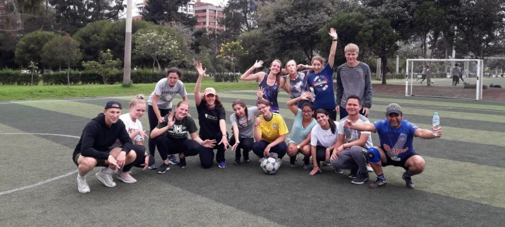Playing Soccer with the IES Fam