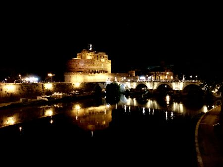 Castel Sant'Angelo and the Tiber River