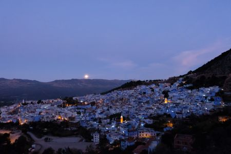 Photo of Chefchaouen at dawn