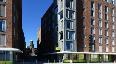binary hub residence hall in dublin, ireland