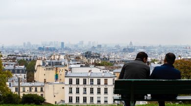 Cloudy View of Paris