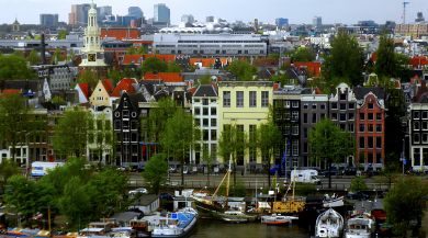 Amsterdam study abroad student photo of canal