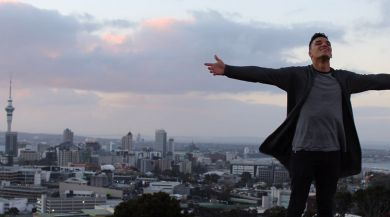 Auckland study abroad student