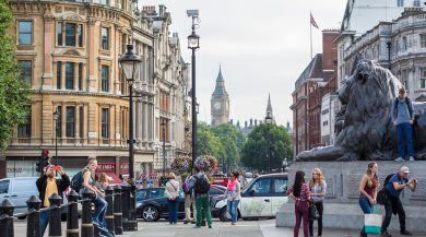 picture of London street