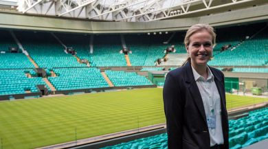 Student intern at Wimbeldon in London